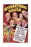 International House - Movie Poster Reproduction Poster