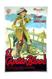 Captain Blood - Movie Poster Reproduction Prints