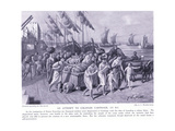 An Attempt to Colonise Cathage 122BC Giclee Print by A.C. Weatherstone