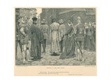 Illustration for King Richard II Giclee Print by J.M.L. Ralston