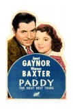 Paddy the Next Best Thing - Movie Poster Reproduction Posters