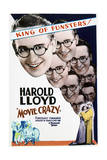 Movie Crazy - Movie Poster Reproduction Print