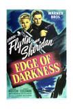 Edge of Darkness - Movie Poster Reproduction Gicléetryck på högkvalitetspapper