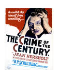 The Crime of the Century - Movie Poster Reproduction Print