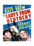 The Lady's from Kentucky - Movie Poster Reproduction Print