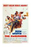 The Ambushers - Movie Poster Reproduction Art