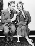 Jeanette Macdonald And Nelson Edd Photo