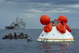 Recovery of the Orion Crew Module Photographic Print