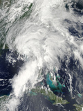 Tropical Storm Andrea over Florida Photographic Print