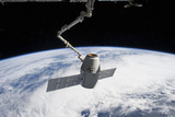 Spacex Dragon in the Grasp of Canadarm2 Photographic Print
