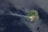 Sporadic Eruptions from Paluweh Volcano Photographic Print