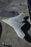 The Experimental X-47B Unmanned Combat Air System Demonstrator Photographic Print