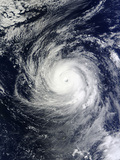 Super Typhoon Lekima in the Pacific Ocean Photographic Print