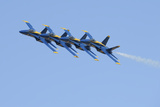 U.S. Navy Flight Demonstration Squadron, the Blue Angels Photographic Print