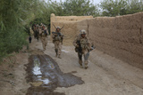 U.S. Marines Patrol to their Next Objective During a Mission in Afghanistan Photographic Print
