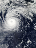 Typhoon Lekima in the Pacific Ocean Photographic Print