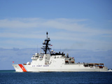 The National Security Cutter Uscgc Waesche Photographic Print