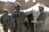 U.S. Soldiers Take a Tour of the Petawa School in Afghanistan Photographic Print