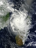 Tropical Cyclone Hellen Spins Offshore Madagascar Photographic Print