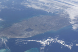 View from Space of the Florida Peninsula Photographic Print