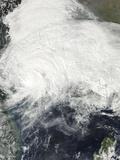 Tropical Storm Haiyan over Mainland China Photographic Print