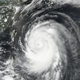 Super Typhoon Neoguri Churning Toward Okinawa and Southern Japan Photographic Print