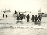 American Forces Landing at Arzew, Algeria During Operation Torch Photographic Print