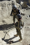 Afghan National Security Forces Members Search for Ied'S Photographic Print