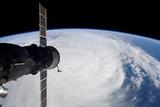 Cyclone Glenda and a Docked Soyuz Spacecraft Photographic Print