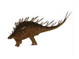 Kentrosaurus Dinosaur from the Jurassic Period Posters