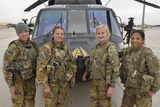 A U.S. Army All Female Crew Photographic Print