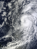 Hurricane Humberto Off West Africa Photographic Print