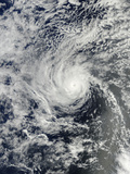 Hurricane Henriette Near Hawaii Photographic Print