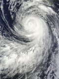 Hurricane Marie Off Mexico Photographic Print
