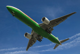 An Eva Airways Boeing 777-300Er Photographic Print
