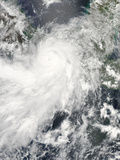 Hurricane Barbara over Central America Photographic Print