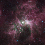 Infrared View of the Carina Nebula Photographic Print