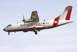 An Atr-42 of the Italian Coast Guard Photographic Print