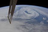 A Northern Hemisphere Mid-Atlantic Low Pressure System Photographic Print