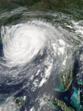 Hurricane Isaac over Louisiana Photographic Print