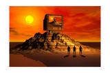 Knowledge of the Ancients Gave Rise to the Building of the Pyramids Art
