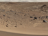 Martian Valley on Planet Mars Photographic Print