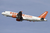 Airbus A319 of Easyjet British Airlines Photographic Print