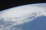 Hurricane Irene over Cape Hatteras, North Carolina Photographic Print