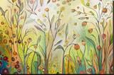 Welcome to My Garden Leinwand von Jennifer Lommers