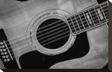 Classic Guitar Detail IX Trykk på strukket lerret av Richard James