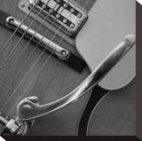 Classic Guitar Detail VII Stretched Canvas Print by Richard James