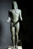 Apollo of Piraeus, Bronze Sculpture Photographic Print