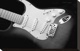 Classic Guitar Detail XI Trykk på strukket lerret av Richard James