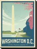 Washington, DC Stretched Canvas Print by  Anderson Design Group